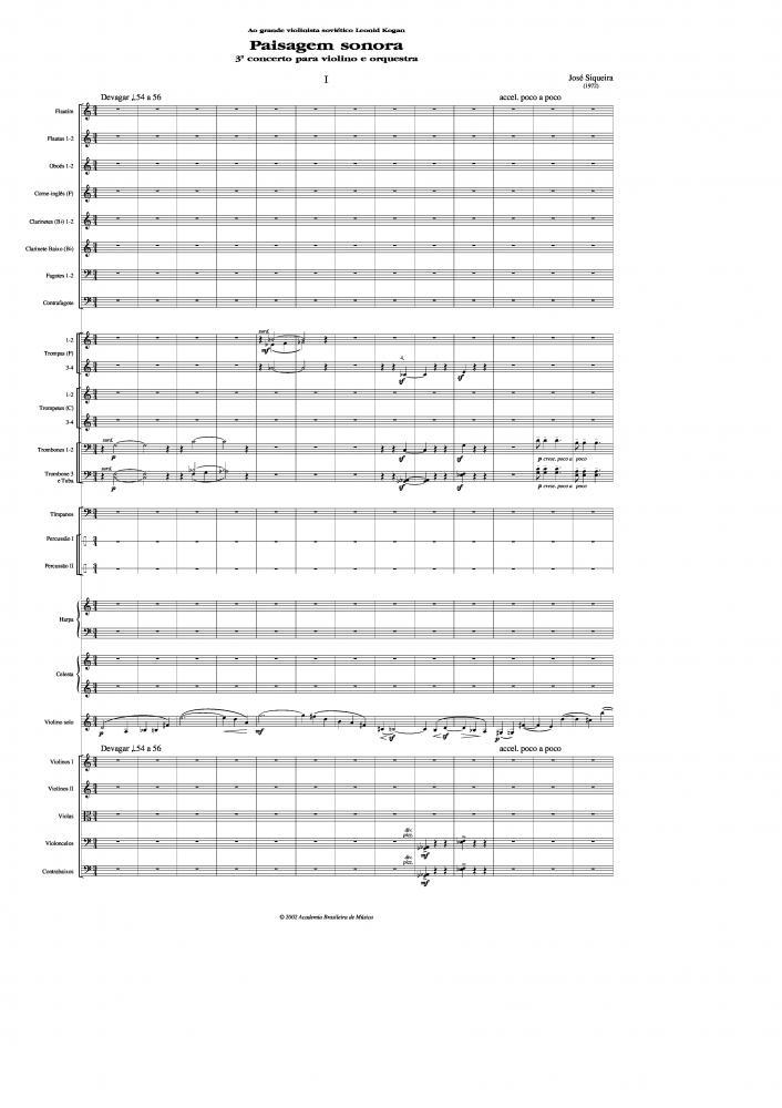 Concerto n.3 para violino e orquestra (1972)