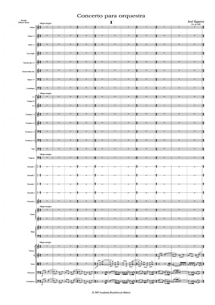 Concerto para orquestra (1980)