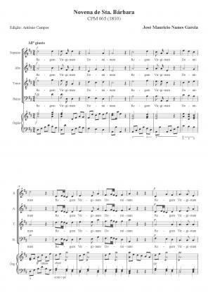 Novena de Sta. Bárbara (1810)