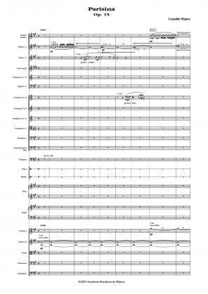 Parisina op.15 (1888)
