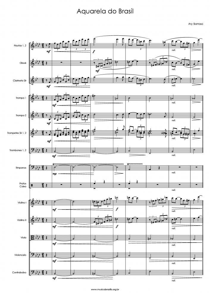 Aquarela do Brasil (orquestra) (1939)