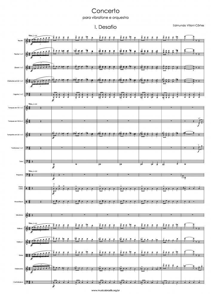 Concerto para vibrafone e orquestra (1995)